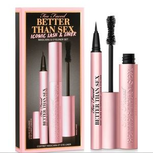 Too Faced Better Than Sex Mascara and Eyeliner Set